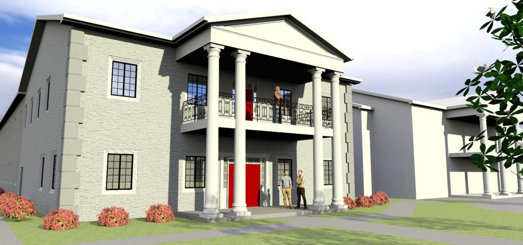 House of Disciples 3d mockup created by Building solutions
